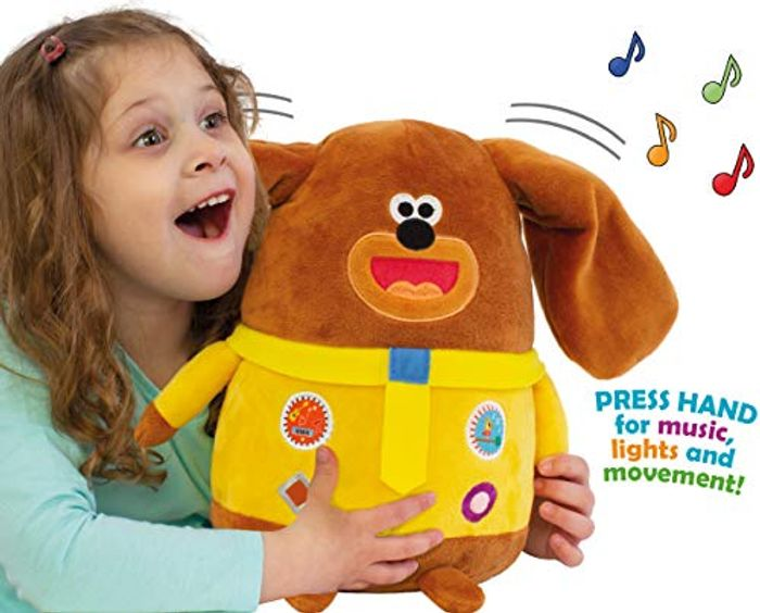 NEW! HEY DUGGEE with Fun Moving Ears, Lights, Sounds & Songs