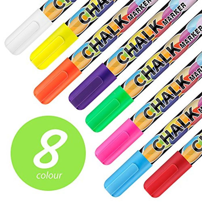 Chalk pens pack of 8 there's a Promotion Tab money off save £2