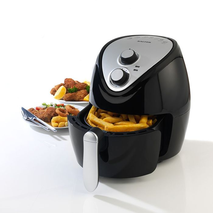 Salter 3.2L Hot Air Fryer - Black/Silver