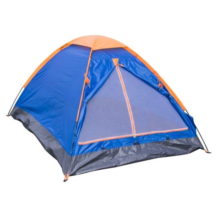 Tesco 2 Man Tent Single Layer HALF PRICE
