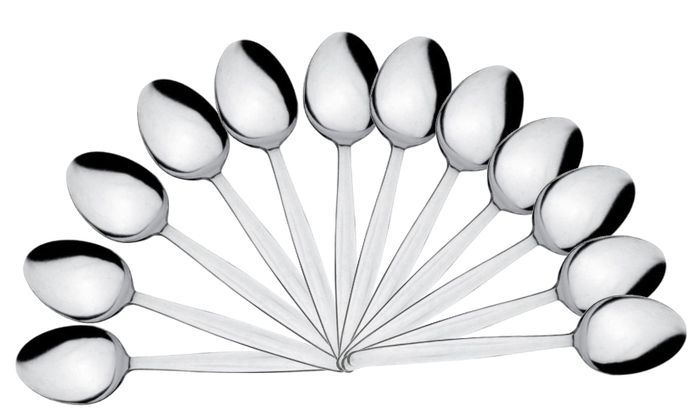 Dessert Spoons Cutlery, Economy (Pack of 12)