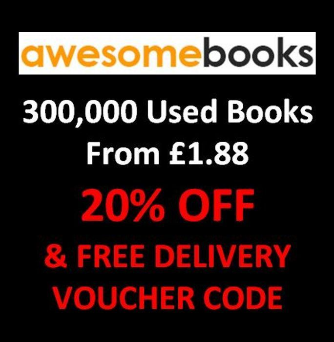 300,000 CHEAP Second Hand Books + EXTRA 20% OFF & FREE DELIVERY at Awesome Books