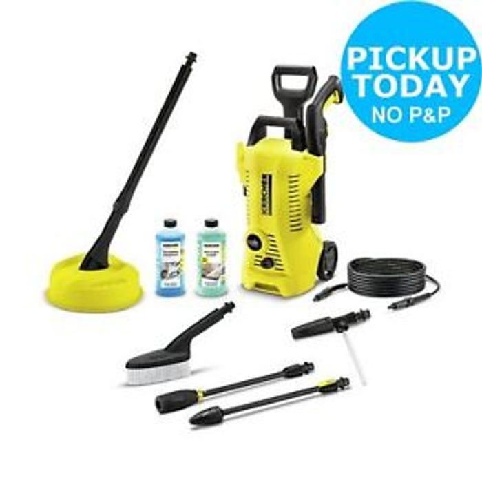 Save £60 Karcher K2 Full Control 1400W 110 Bar Car & Home Pressure Washer