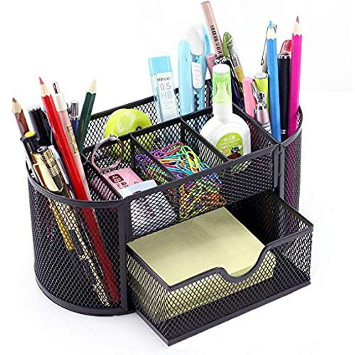 AYAN Tidy Desk Mesh Desk Specific Caddy Desk Organiser Set