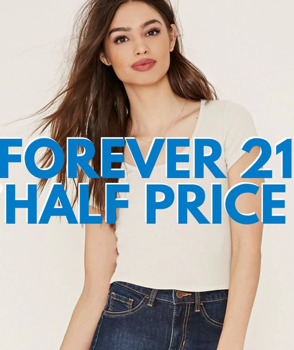 Forever 21 - 50% Off Sale + Free Delivery!