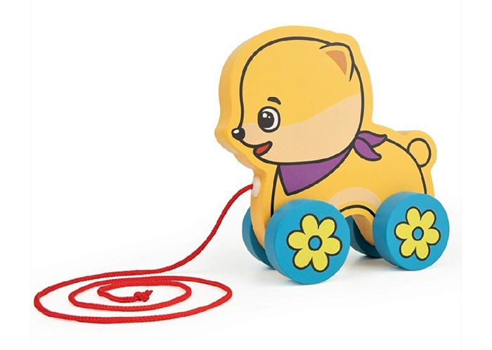 Pull along Dog Baby Toy at Amazon (Prime Delivery Available)