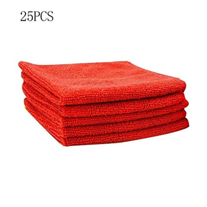 25 Pcs/Set Dish Wash Cloth 75% off + Free Delivery