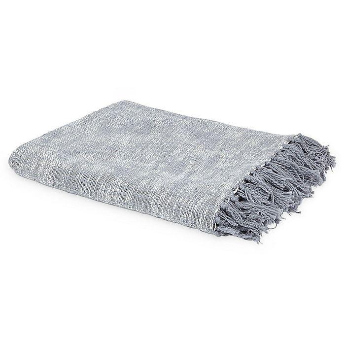 Rural Grey Diamond Throw