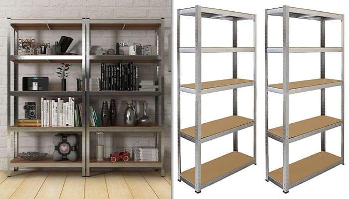 2 or 4 X Multifunctional Fortified Steel Shelves