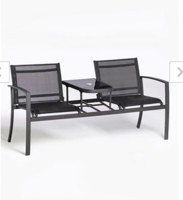 Glendale Textilene 2 Seater Love Seat