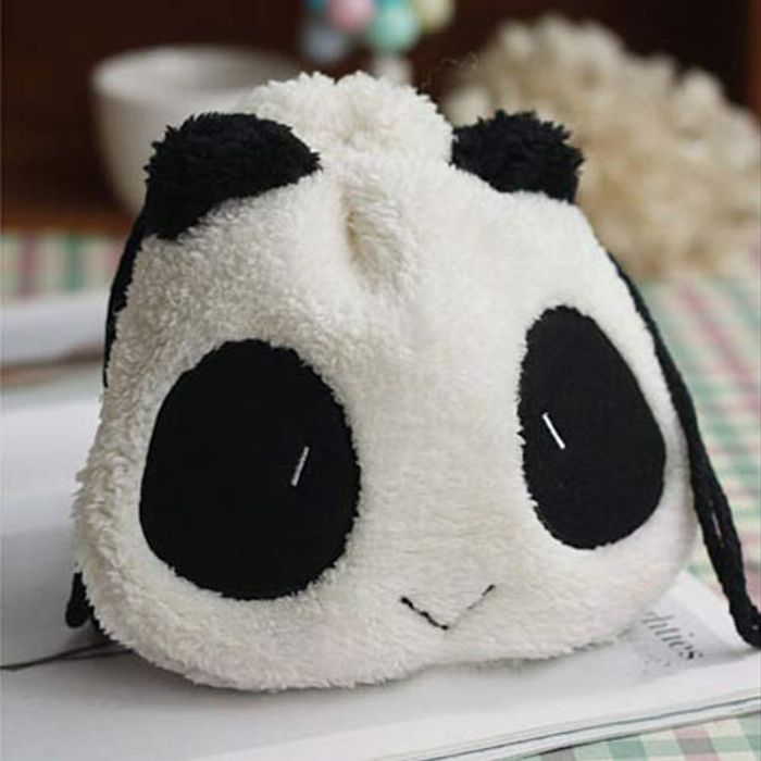 Fluffy Panda Storage Bag Just 1p (99p Delivery)