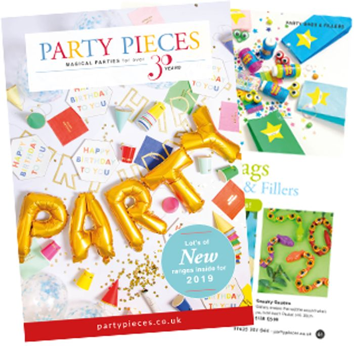Free Party Pieces Catalogue