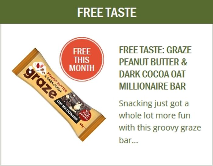 Free Product Every Month When You Sign up to Taste Club