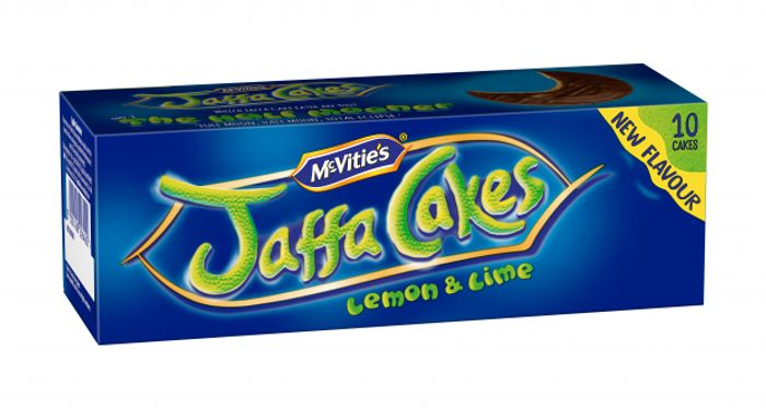 McVities Jaffa Cakes Lemon & Lime