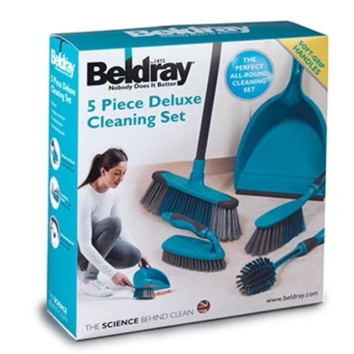 Beldray Turquoise 5 Piece Cleaning Set - HALF PRICE