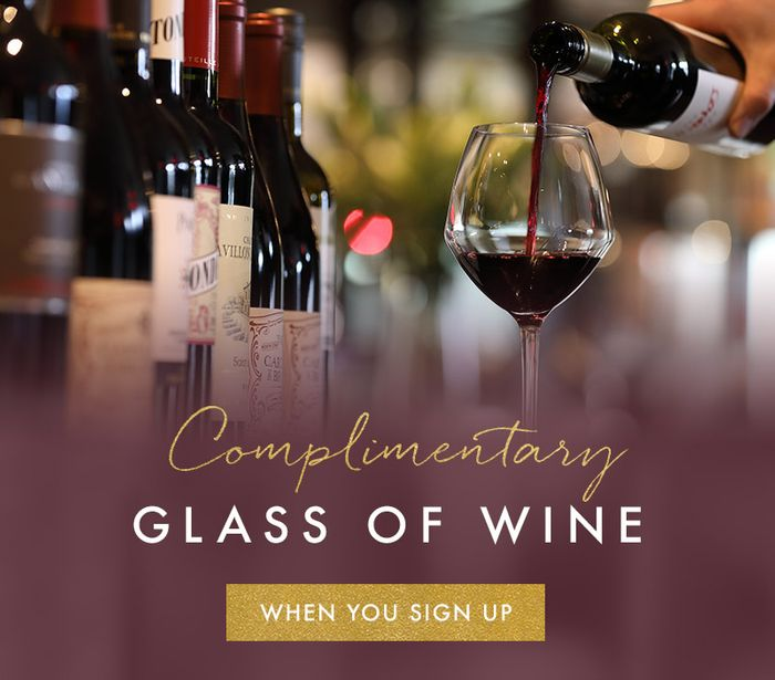 Voucher for a Complimentary Glass of Wine