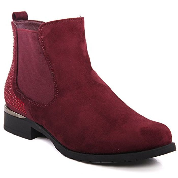 Unze Womens Cariona Winter Riding Boots Only £5 Delivered