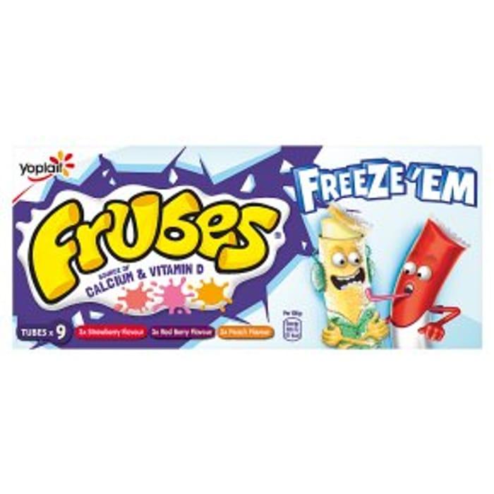 Frubes Strawberry Flavour Yogurt Tubes 9x37g
