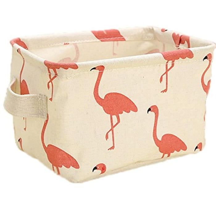 Cotton and Linen Storage Basket