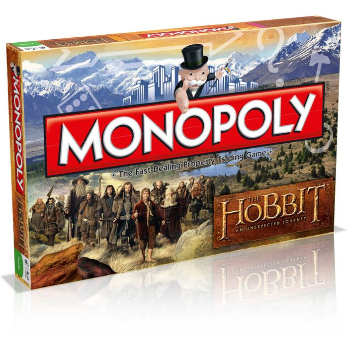 Monopoly - The Hobbit Edition Only £12.99 Delivered with Code - Save £17