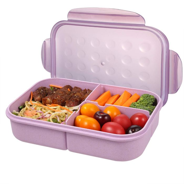 Bento Box for Adults Lunch Containers for Kids 3 Compartment