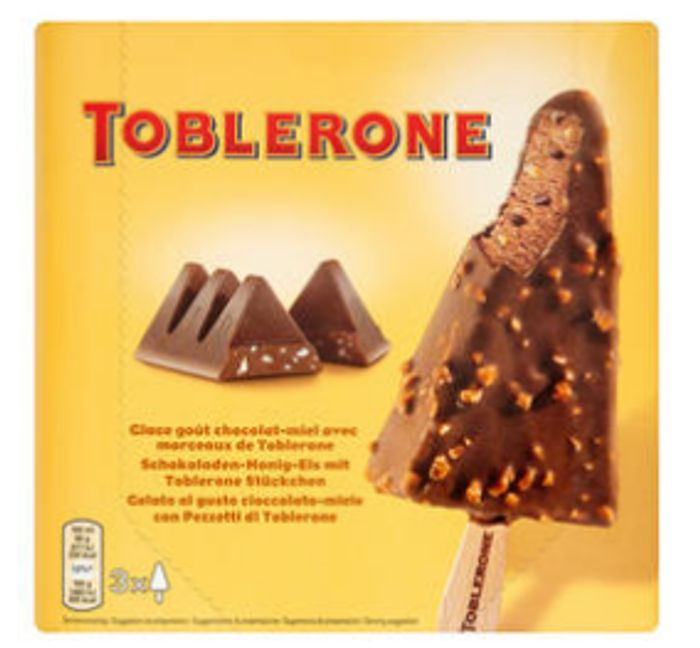 Toblerone Ice-Cream (2 Packs for £4)