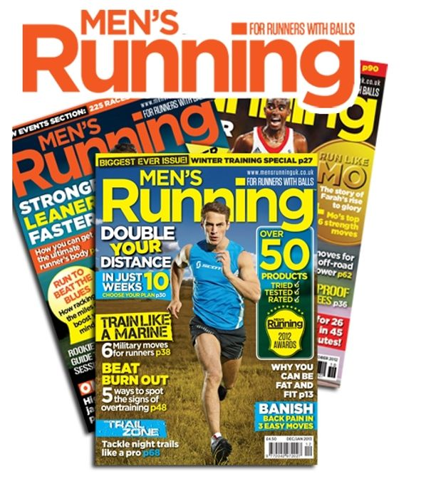 Free Copy of Men's Running Magazine