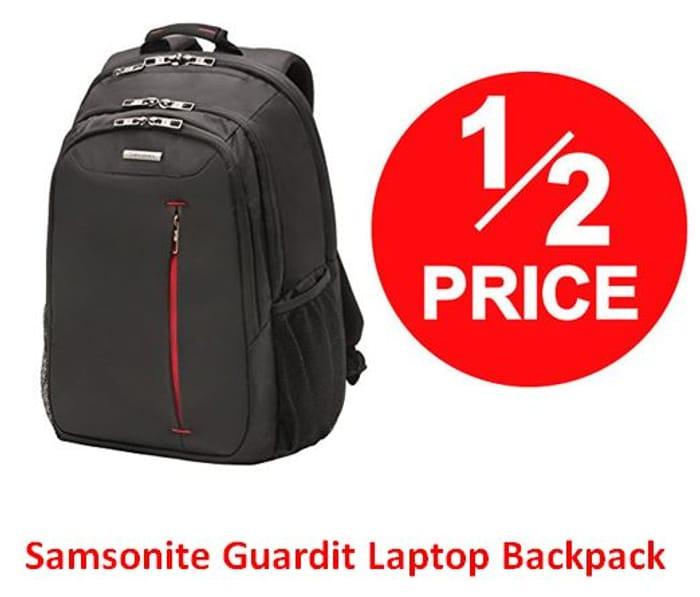 HALF PRICE: Samsonite Guardit Laptop Backpack
