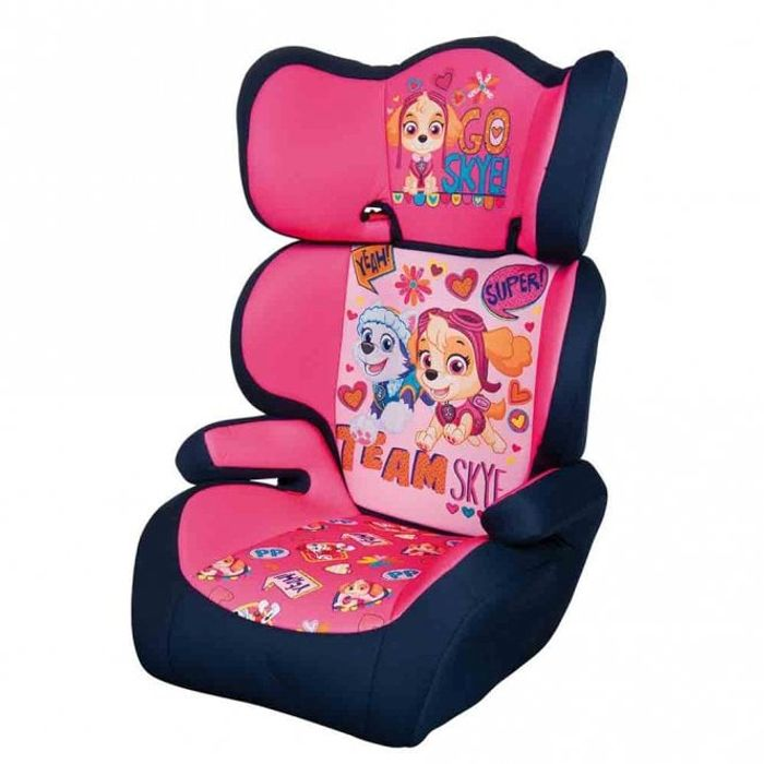 PAW PATROL Pink Car Seat, Neck Cushion & Window Shade Set
