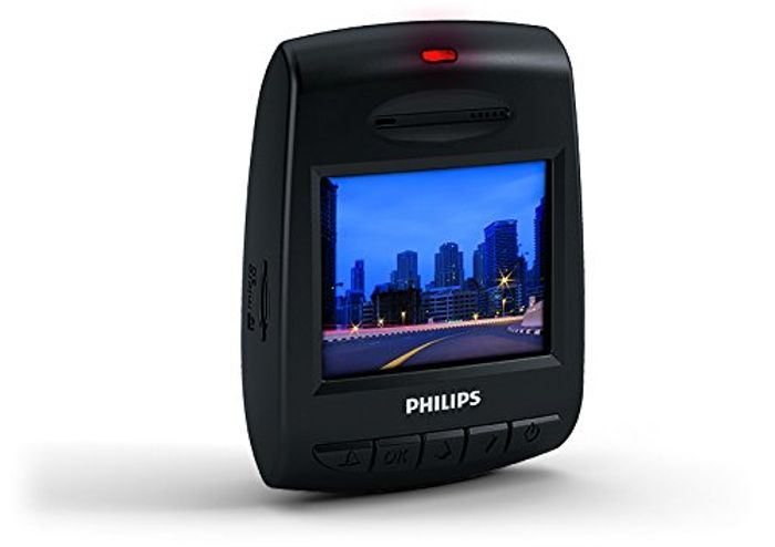 Philips ADR61BLX1 ADR 610 Full HD Car Driving Video Recorder Dashcam / Dash Cam