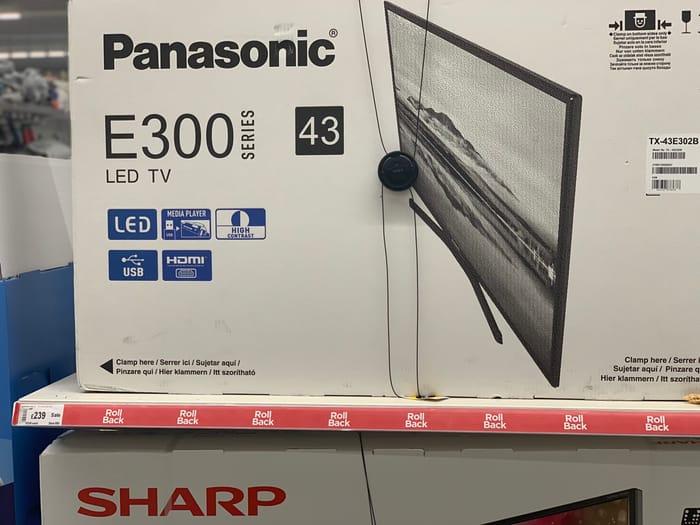 Panasonic E300 Series 43-Inch Full HD LED TV
