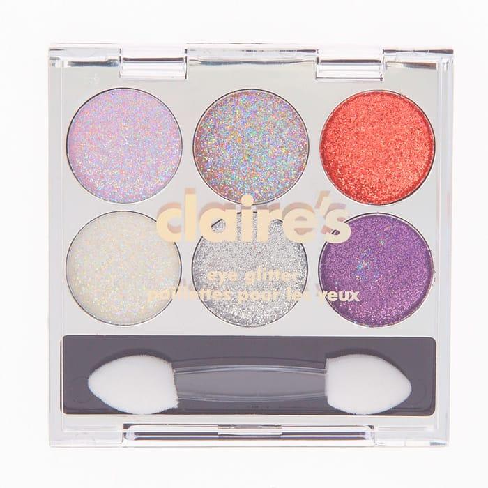 6 Piece Pink Glitter Eyeshadow Palette