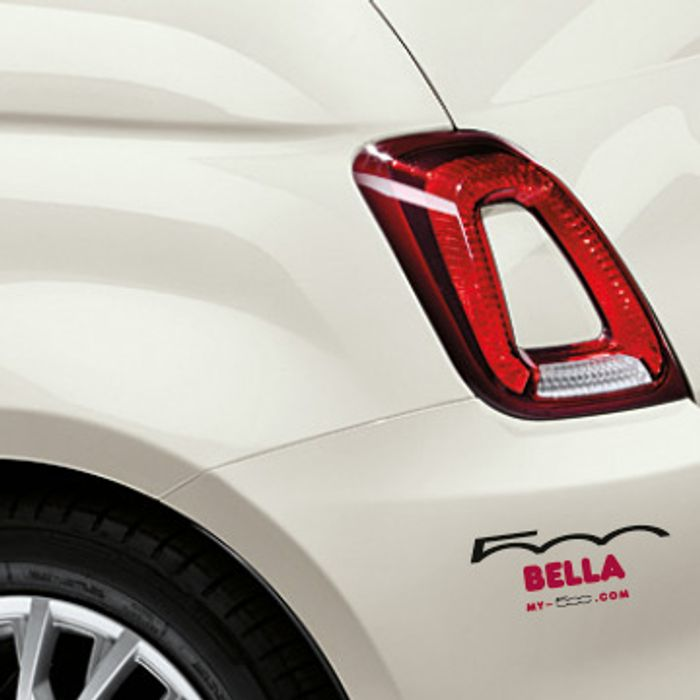 Free Name Sticker For Fiat 500 Owners Latestdealscouk