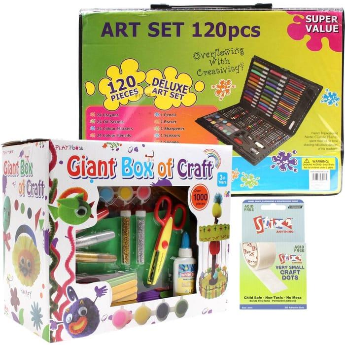 Bargain! Kids Craft Bundle with Glue Dots at Hobbycraft