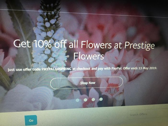 Get 10% off All Flowers at Prestige Flowers