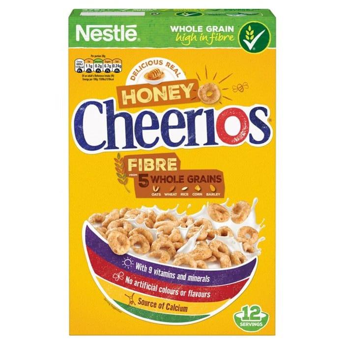 Nestle Honey Cheerios /Cheerios 375g /Rice Krispies 340g/ Shreddies 415g