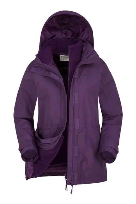 Fell Womens 3 in 1 Water-Resistant Jacket