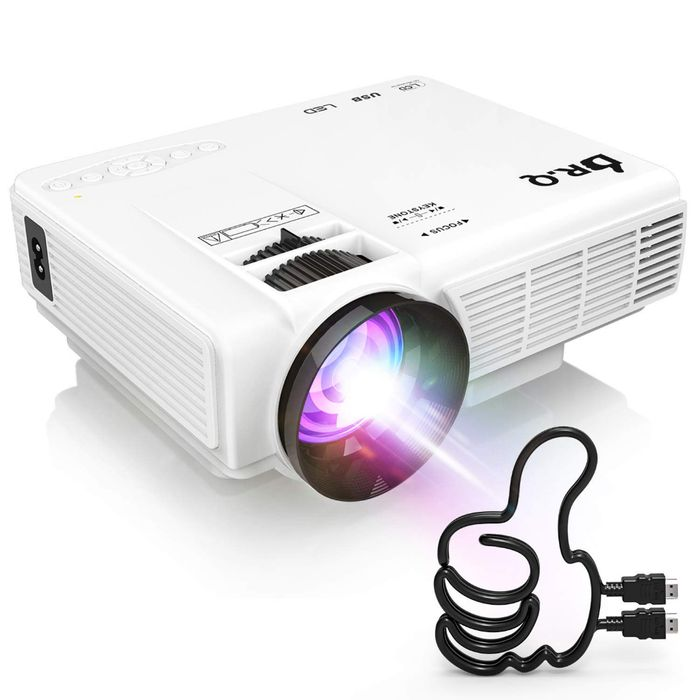 Deal Stack - Mini Projector - 10% off + Lightning
