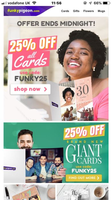 25% off All Cards