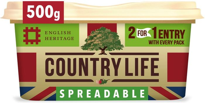 Country Life British Spreadable 500G SAVE £1
