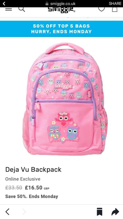 Smiggle Deja Vu Backpack