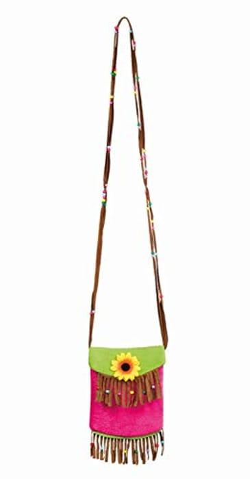 Multicoloured Tropical Handbag