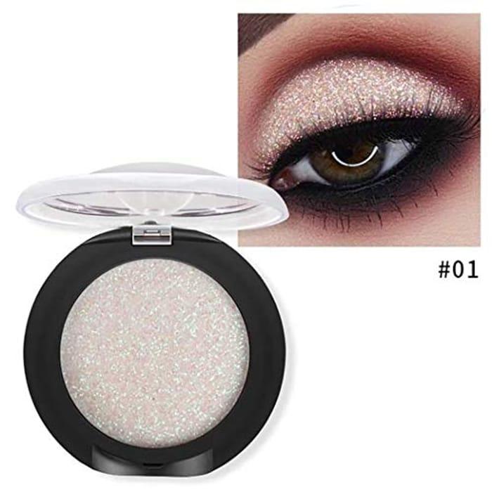 Fenido New Women Cosmetic Make Up Single Color Eye Shadow Glitter Eyeshadow