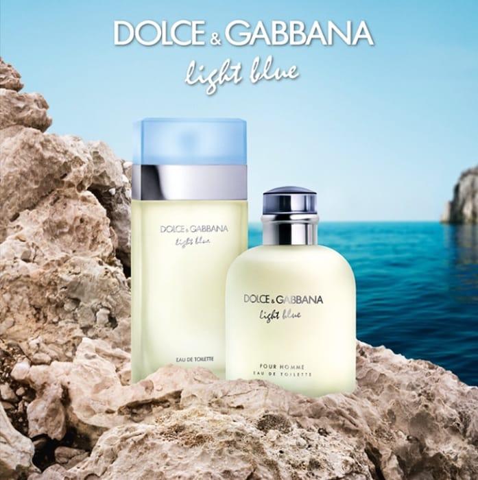 FREE Sample of Dolce&Gabnanas NEW Light Blue Fragrance