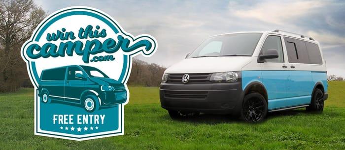 Win This Volkswagen T5 Camper!