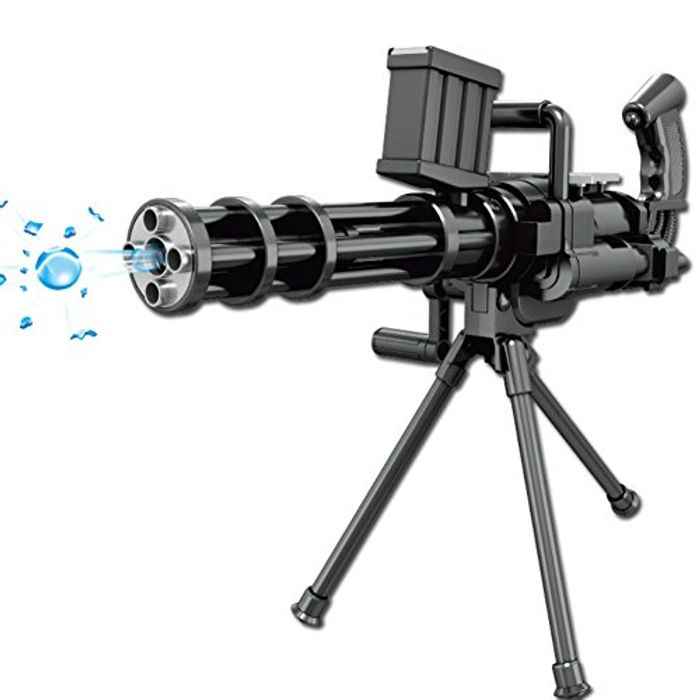 Water Pellet Gatling Gun Toy for Kids