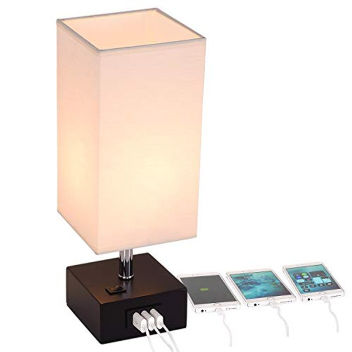 Desk Lamp with 3 USB Charging Ports