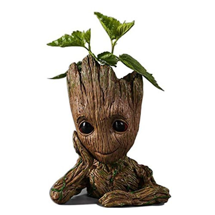 Baby Groot Flower Pot Figurine at Amazon Only £3.85 Delivered
