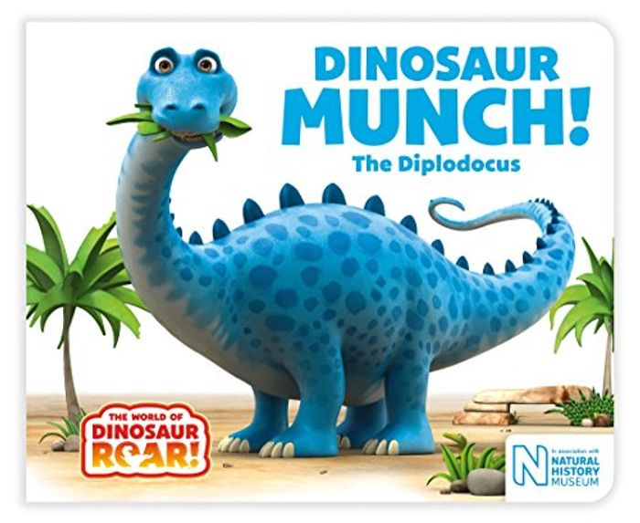 Dinosaur Munch! the Diplodocus Board Book