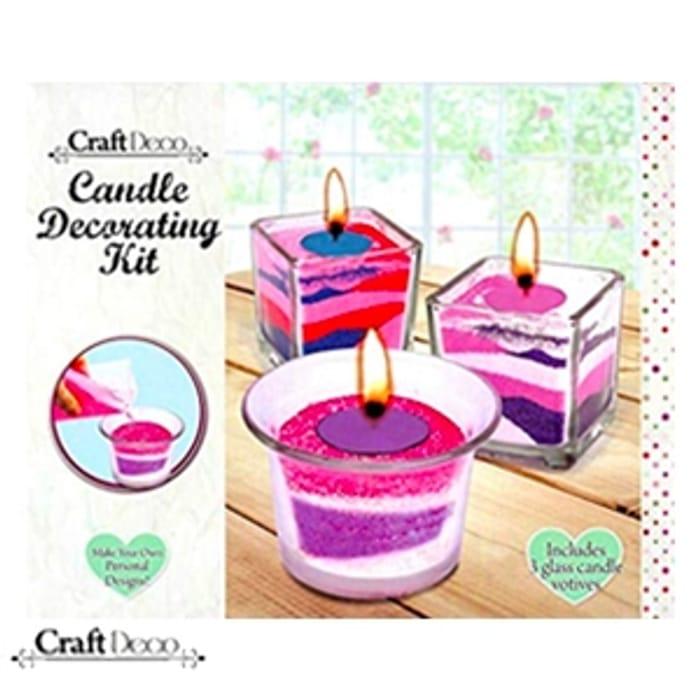 Grafix Craft Deco Candle Decorating Kit